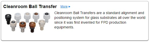 CLEAN ROOM BALL TRANSFER